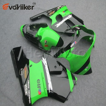 Custom ABS motor fairing for ZX12R 2000-2001 ZX-12R 00-01 Motorcycle panels+Gifts Injection mold green black  H2