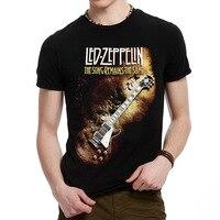 New Classic Casual Fashion Led Zeppelin Heavy Metal Men T Shirt Rock T Shirt Metallica Hip