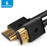 Hagibis 4K HDMI to HDMI Cable HDMI Cables High Speed HDMI Adapter 3D for HD TV  Laptop PS3/4 Projector 0.5m 1m 2m 3m 5m 8m 10m HDMI Cable