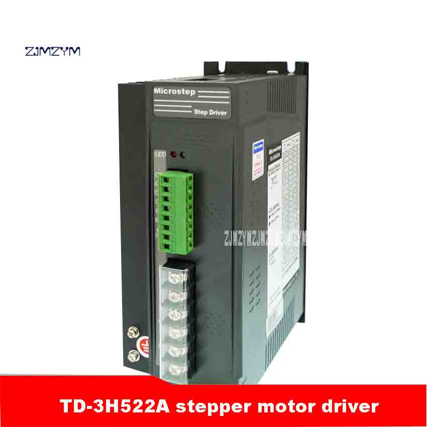 ZJMZYM High Quality TD-3H522A Driver Mainly Used To Drive 110 Three-phase Hybrid Motor 28 Species 60,000 Steps 5.2A (rms) 500W zjmzym ms 2h057m stepper motor driver mainly used for driving type 57 phase current 3a peak two phase hybrid motor 40 000 steps