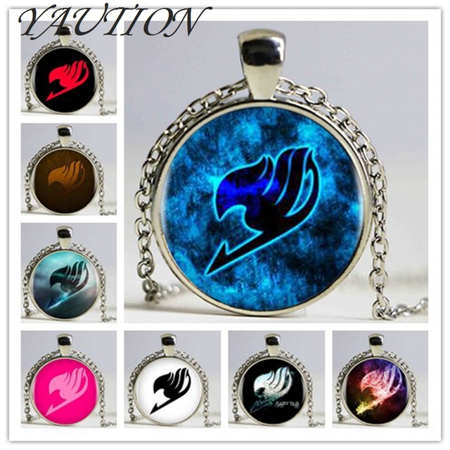 Fairy Tail Woman/Men Logo Pendant Necklace