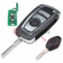 EWS Modificado Virar Remoto Chave 4 Button 315 MHz/433 MHz ID44 Chip PCF7935AA para BMW E38 E39 E46 M5 X3 X5 Z3 Z4 HU58