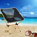 Outdoor portable folding beach chair leisure camp fishing chair
