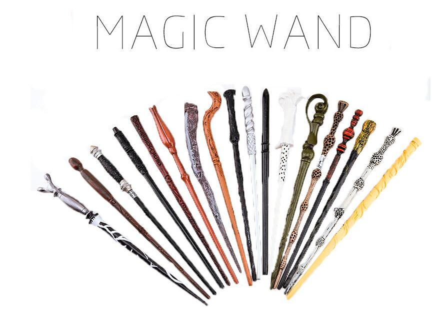 Magic Original Quality Harri Potter Wand Deluxe Dumbledore Old Wand Of Magical Stick Gift Box Packing Toys For Children