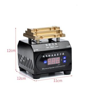 Image 3 - Novecel 220v液晶フレーム分離手動操作機ホットプレート分離するフレームiphone 6 グラムに × xs xr 11 11pro最大