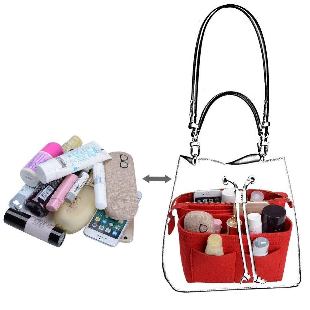 f0ec7a29419 Aliexpress.com : Buy For Neo noe Insert Bags Organizer Makeup Handbag  Organize Travel Inner Purse Portable Cosmetic Bag In Bag Beauty neonoe from  Reliable ...