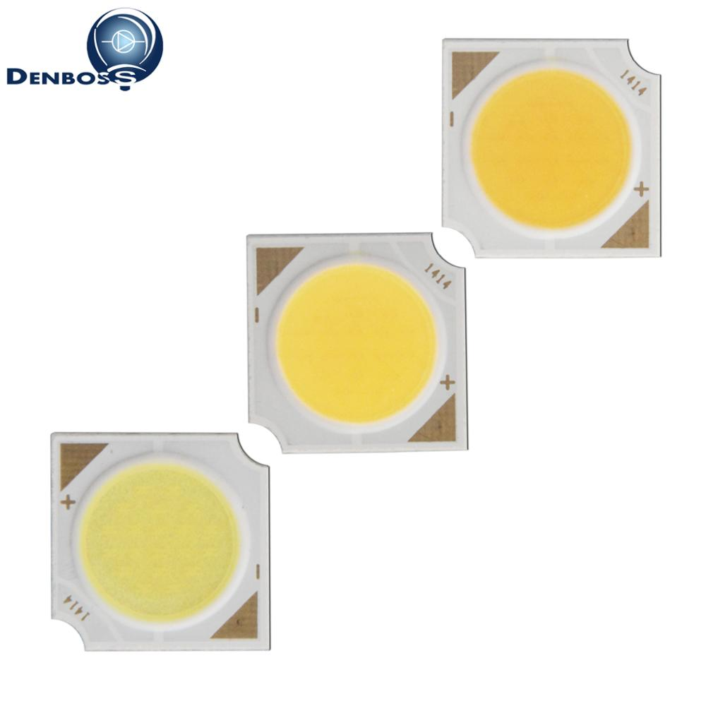 7W Hot Sale Allcob Manufacturer 14mm 11mm Square LED COB Light Source Epistar Chip 21V 23v 24V COB LED For Spotlight Bulb Lamp