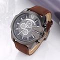 mens watches top brand luxury 2016 sport watches V6 men military leather watch fashion quartz watch hour clock relogio masculino