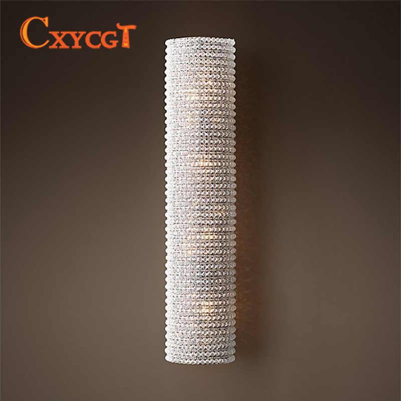 Популярное украшение, современное искусство Винтаж K9 хрустальная люстра бра ламповое Освещение для дома для гостиниц и столовых Декор