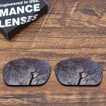 Lentes de repuesto polarizadas resistentes a la corrosión del agua de mar ToughAsNails para gafas de sol Oakley Scalpel Brown (solo lentes)