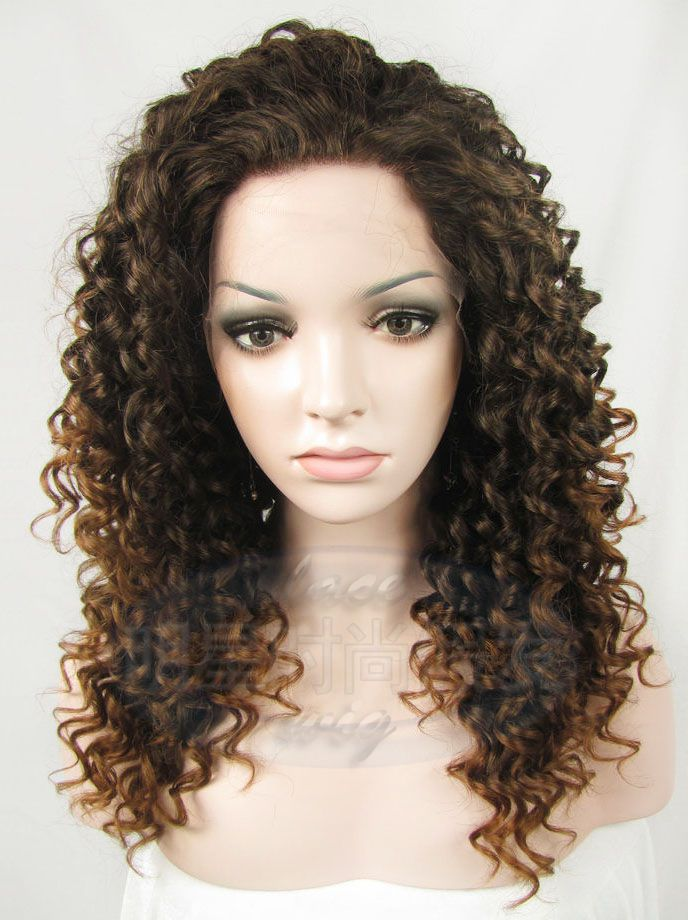 2015 New Type Medium Hair Wig Styles Black Women Bleached Knots Full ...