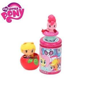 Image 2 - 1 pz My Little Pony Toys Cutie Mark Crew Mini Pony Dolls lamicizia è Magic Rainbow Dash Twilight Sparkle Figure Christmas