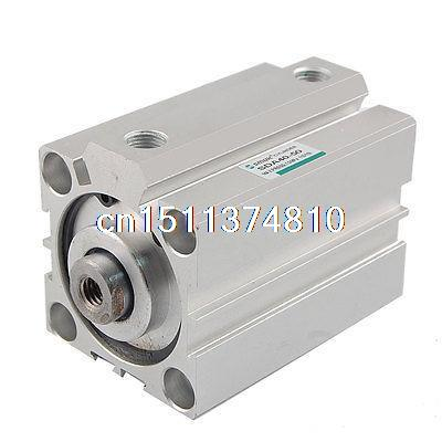 ФОТО 40mm Bore 50mm Stroke Double Action Pneumatic Actuator Air Cylinder