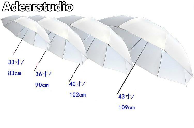 White Soft Umbrella 43