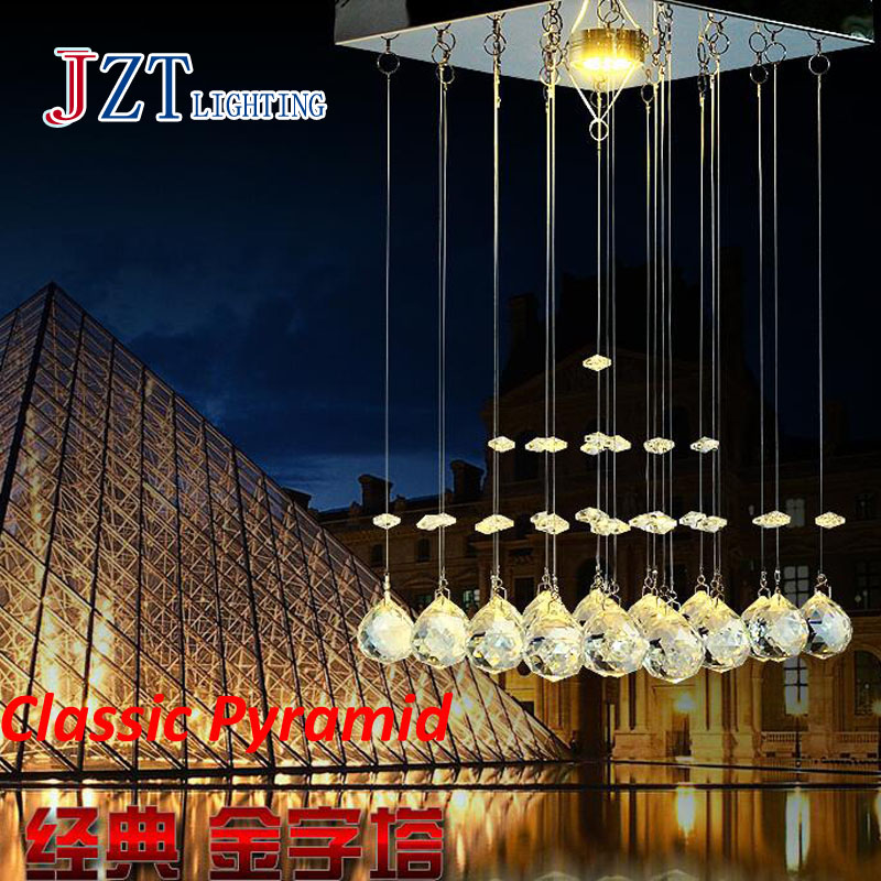 Z best price new Modern Luxury LED Crystal Chandelier Bedroom Corridor Hallway Entrance Crystal Chandelier Bar Balcony LED Lamp z best price l80xw80xh100cm modern k9 square crystal chandelier restaurant lamp hanging wire pyramid crystal lamp project lights