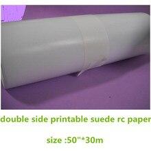 """5""""* 30 м пустой рулон фотобумаги с двухсторонней печатью"""