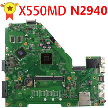SAMXINNO for ASUS 69NB06P0-M82300 69N0RBM1DA00 X550MD Motherboard N2940 CPU REV 2.0 100% fully tested