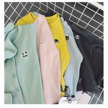 Bonjean boy sweatshirt cartoon infants thorn knitted coat cardigan coat lengthy sleeve pit spring air jacket six colours with patch