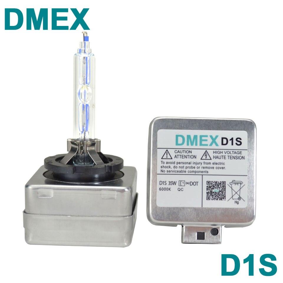 Prix pour DMEX 1 Paire (2 PCS) 35 W D1S Xenon HID Ampoule 4300 K 5000 K 5500 K 6000 K 8000 K HID Xenon Remplacement De La Lampe D1S Xénon Ampoules