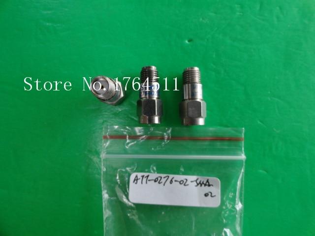 [BELLA] MIDWEST ATT-0276-02-SMA-02 12.4GHz 2dB 2W SMA Coaxial Fixed Attenuator  --3PCS/LOT
