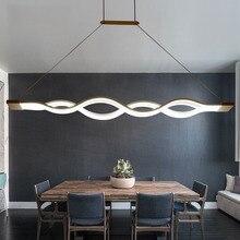 Moderne led lampes suspendues pour Salle À Manger Cuisine Chambre Salle D'étude Décoration Pendentif Lampe Luminaires AC85 ~ 265 V Gradation lampes