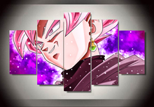 Dragon Ball Canvas 5 Panel Artwork High Quality (Different Sizes)