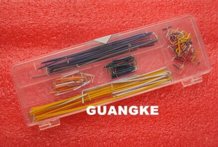 Free Shipping 140pcs in one package convenient New Solderless Flexible Breadboard Jumper wires Cables HOT Sale In stock