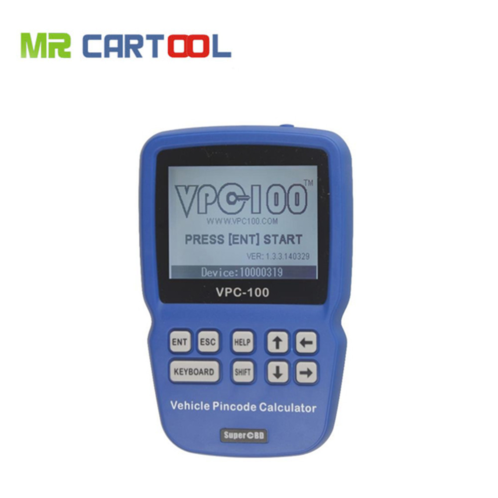 Top Quality New Arrival Pin Code VPC 100 Calculator Support Almost All Cars VPC100 Auto Key Programmer VPC 100