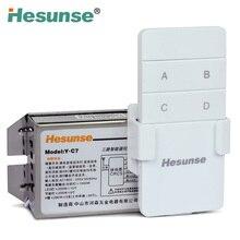 купить Y-C7 220V Three Ways Wireless RF Remote Control Switch + Remote Controller 110V Can Be Customized дешево