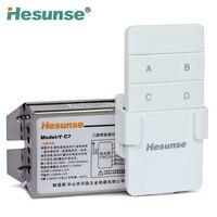 Y-C7 220ボルト3つの方法315 mhz 10aワイヤレスrfデジタルリモートコントロールスイッチ+リモートコントローラ110ボル