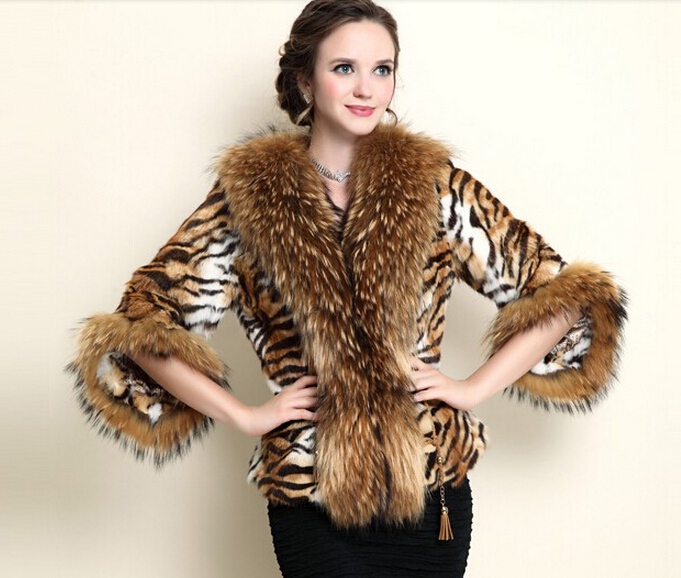 Aliexpress.com : Buy Luxury Winter Natural Furs Coats Lady Genuine ...