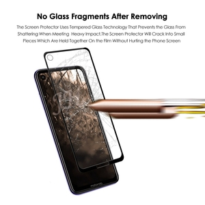 Image 3 - 2Pcs Full cover Tempered Glass for Motorola Moto One Action Screen Protector 9H Protective Glass for Moto One Action Film