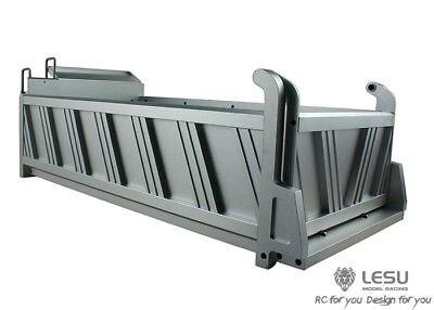 Fernbedienung Spielzeug Lesu 400 Mm Voll Metall Fracht Behälter Eimer B 6*6 Rc Dumper 1/14 Lkw Tamiya Th02029