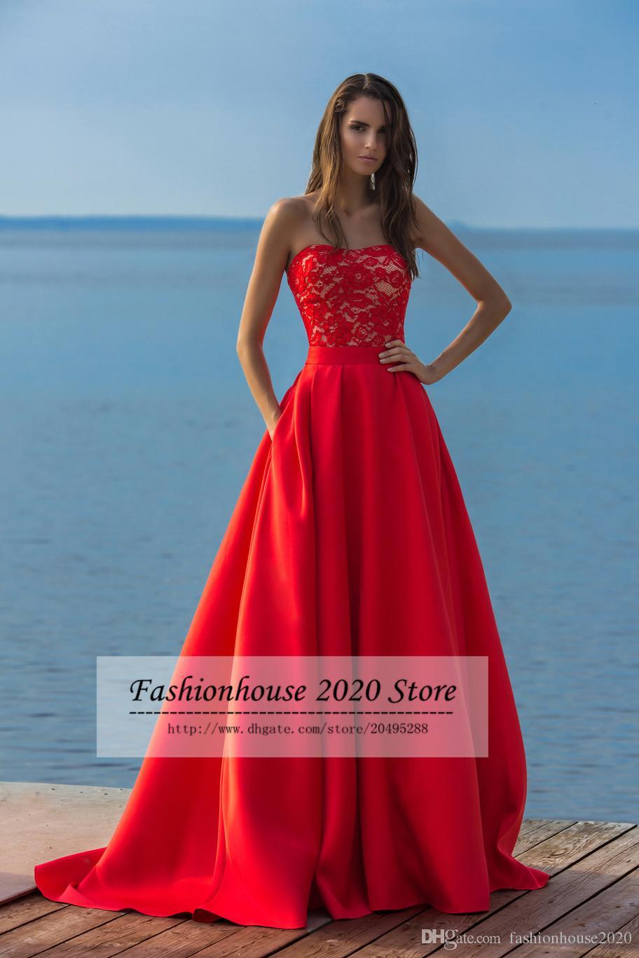 Alta Moda Sin Tirantes Elegantes Vestidos de Novia Con Desmontable ...