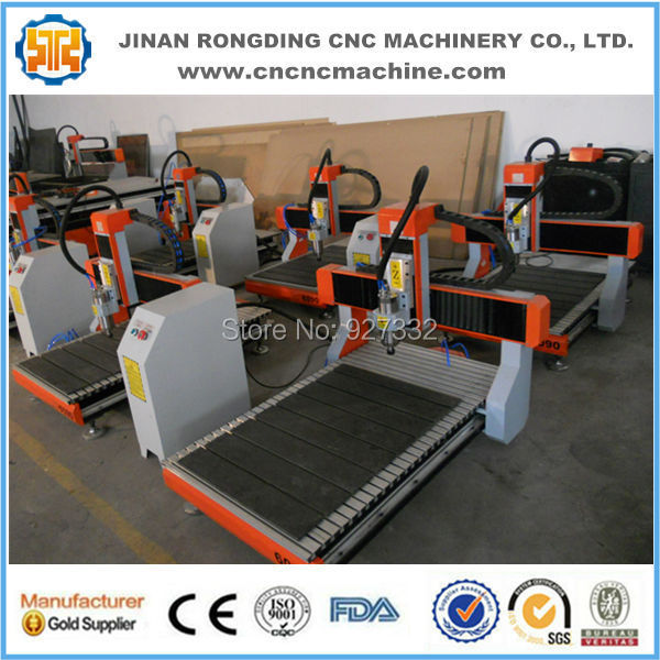 Mach3 Computer Control System Cnc Router Milling Machine/wood Router Machine/3 Axis Router