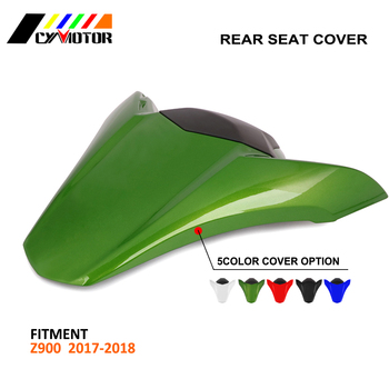Motorcycle ABS Plastic Rear Seat Protective Cover Cap For KAWASAKI Z900 Z 900 2017 2018 17 18