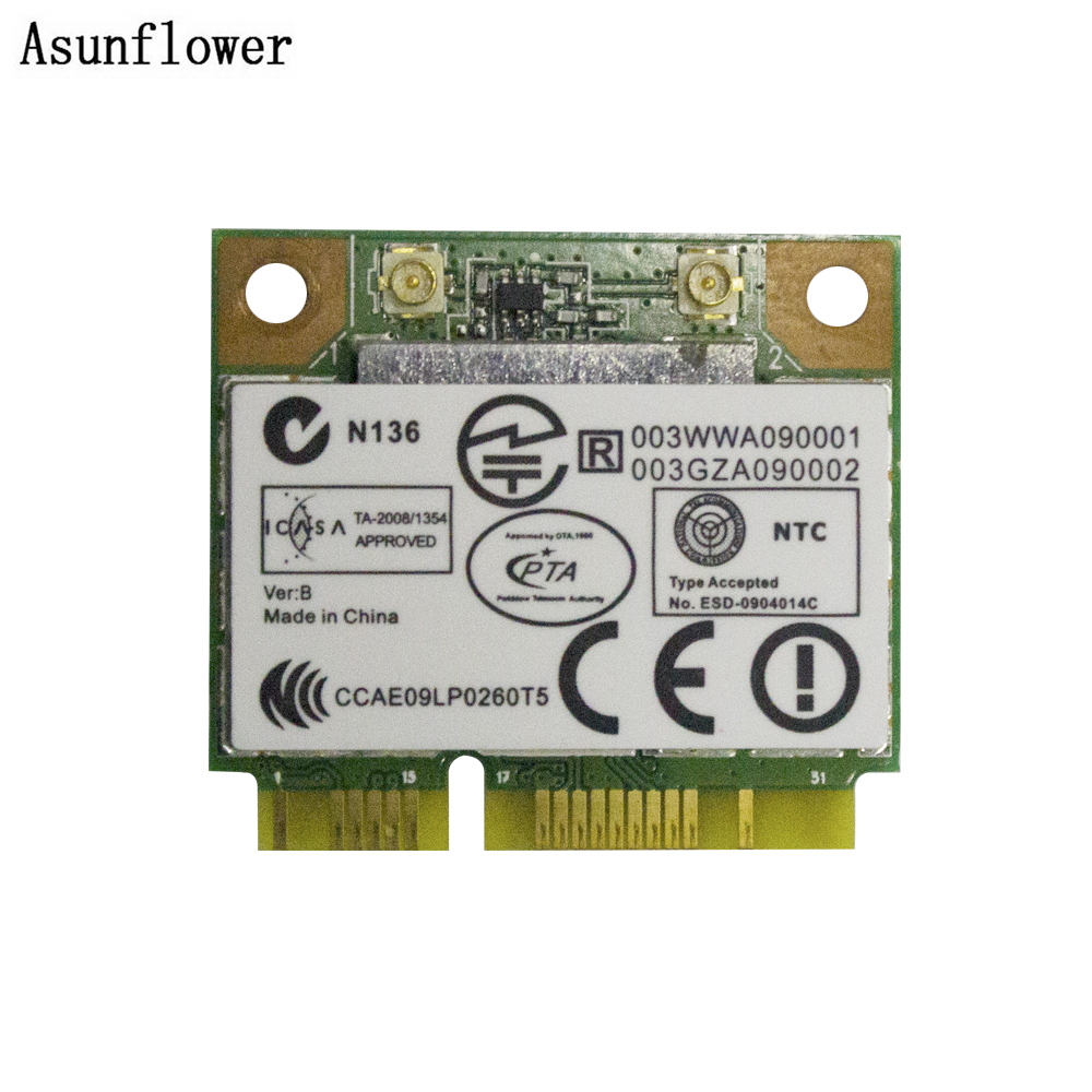 New Laptop Wireless Wlan WiFi Card RTL8188EE 709505-001 For HP 709505-001