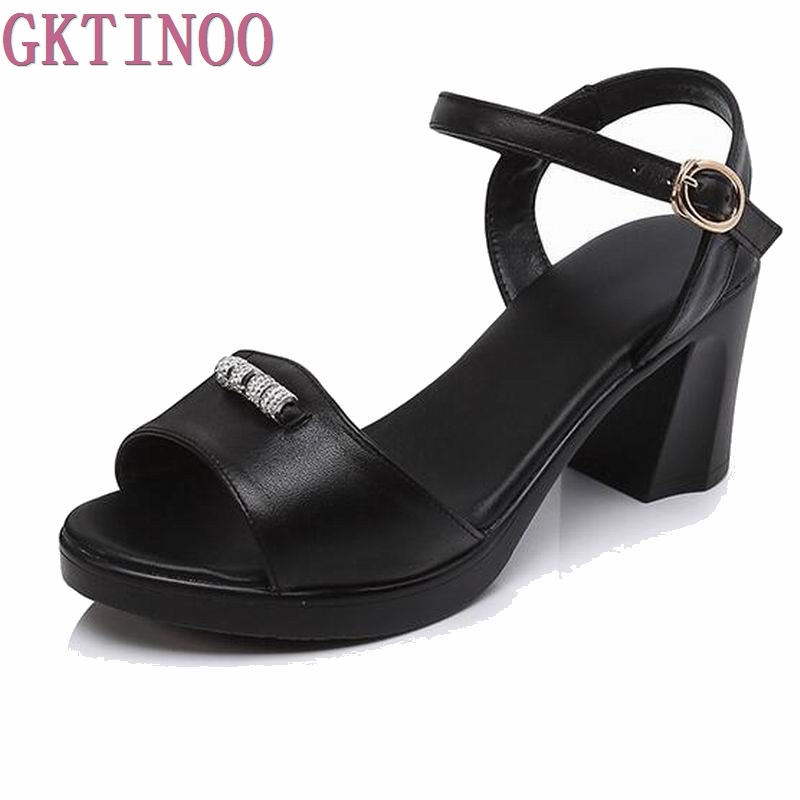 Mujeres Femenina Suave Zapatos Beige Plataforma Talón Verano gris Moda  Dulce Auténtico 2018 Sandalias negro Señoras V1508 Sandalia Cuero rPgw7Uxr 62913a9d8231