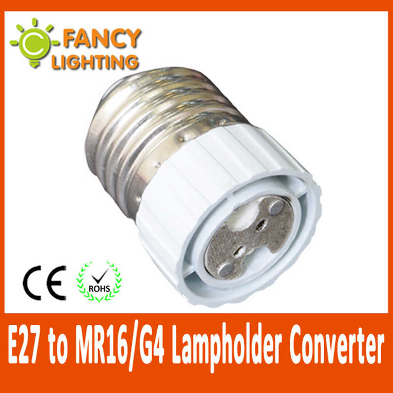 E27 to MR16/G4 light lamps extension socket base holder for led bulb Lamp Holder Converter light lamp bulb adapter converter