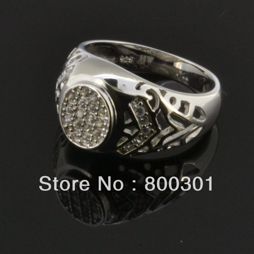 unique mens silver rings, stone ring designs for men-in Rings from ...