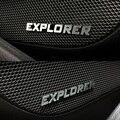 4 шт. алюминиевых дверей звуковой динамик металл стикера эмблемы значка для Ford Explorer