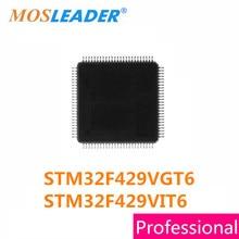 STM32F429VGT6 Mosleader STM32F429VIT6 LQFP100 1 PCS STM32F429 STM32F429V STM32F429VG STM32F429VI Peças de Reposição Originais