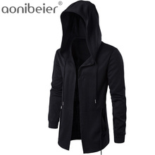 Aonibeier Men Hooded Sweatshirts With Black Gown
