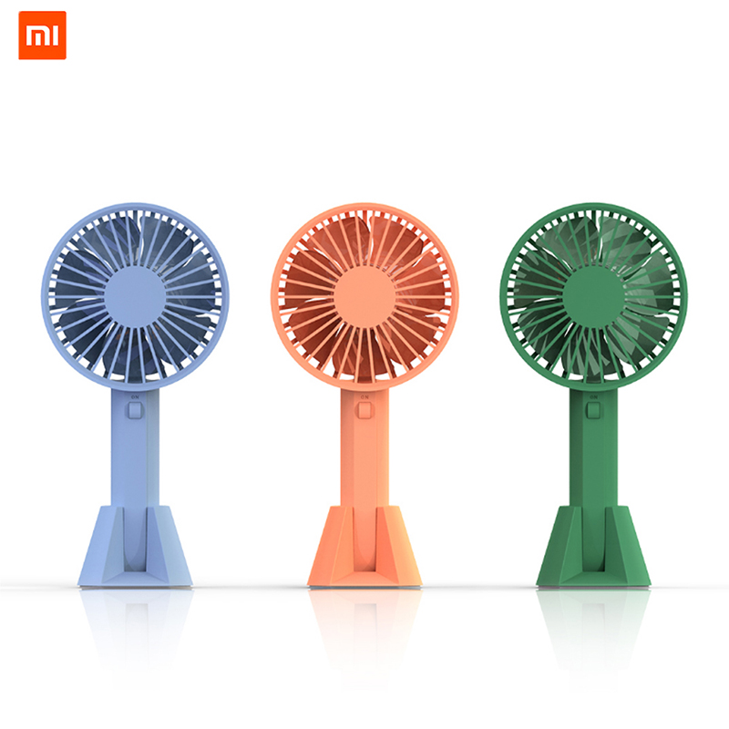 New Portable Handheld Rechargeable Built-in Battery Usb Port Portable Mini Desk Fan For Smart Home Special Summer Sale Vacuum Cleaner Parts Home Appliances