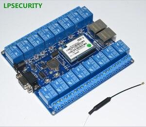Image 4 - Objets dinternet intelligents, domotique, port RS232 RJ45, module de relais wifi, carte de relais à 16 canaux ou 2ch, antenne wifi p2p