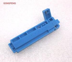 Image 3 - GONGFENG 100 stks NIEUWE Optische Fiber Quick Connector Tool Vergadering Vaste Lengte Stripper, lengte van geleiderail van een combo Groothandel