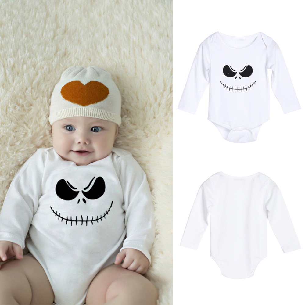 Halloween Baby Romper Newborn Toddler Boy Girls Infant Cartoon Clothes Jumpsuit New Year cotton Christmas Child clothing Sets