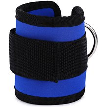 2PC Thickening Ankle Strap Wrap Breathable Ajustable Legs Belt Tube with Hook Loop Closure Fitness Pad Strength Training