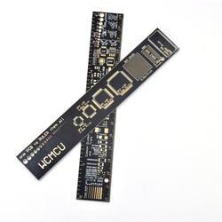 10 шт./лот PCB правитель 15 см для инженеров для вундеркиндов производители для Arduino поклонников PCB Справочник правитель PCB