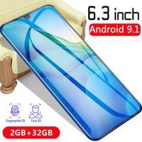 2GB+32GB CHAOAI P35pro Smartphone Global Version CellPhone 10 core 6.3 inch Drop Screen Telephone 2 Sim
